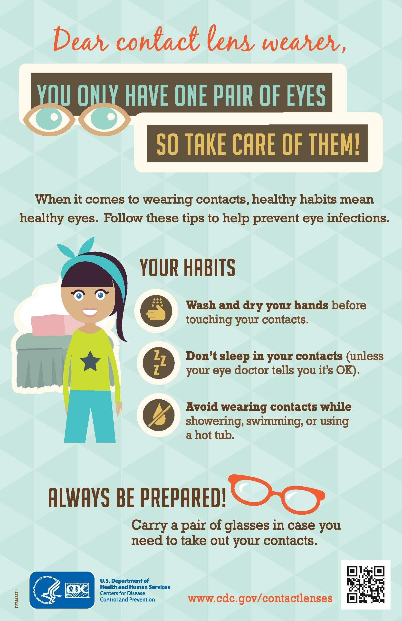 How to Care for Your Contact Lenses and Eyes