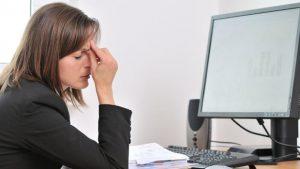 electronics can damage your eyes