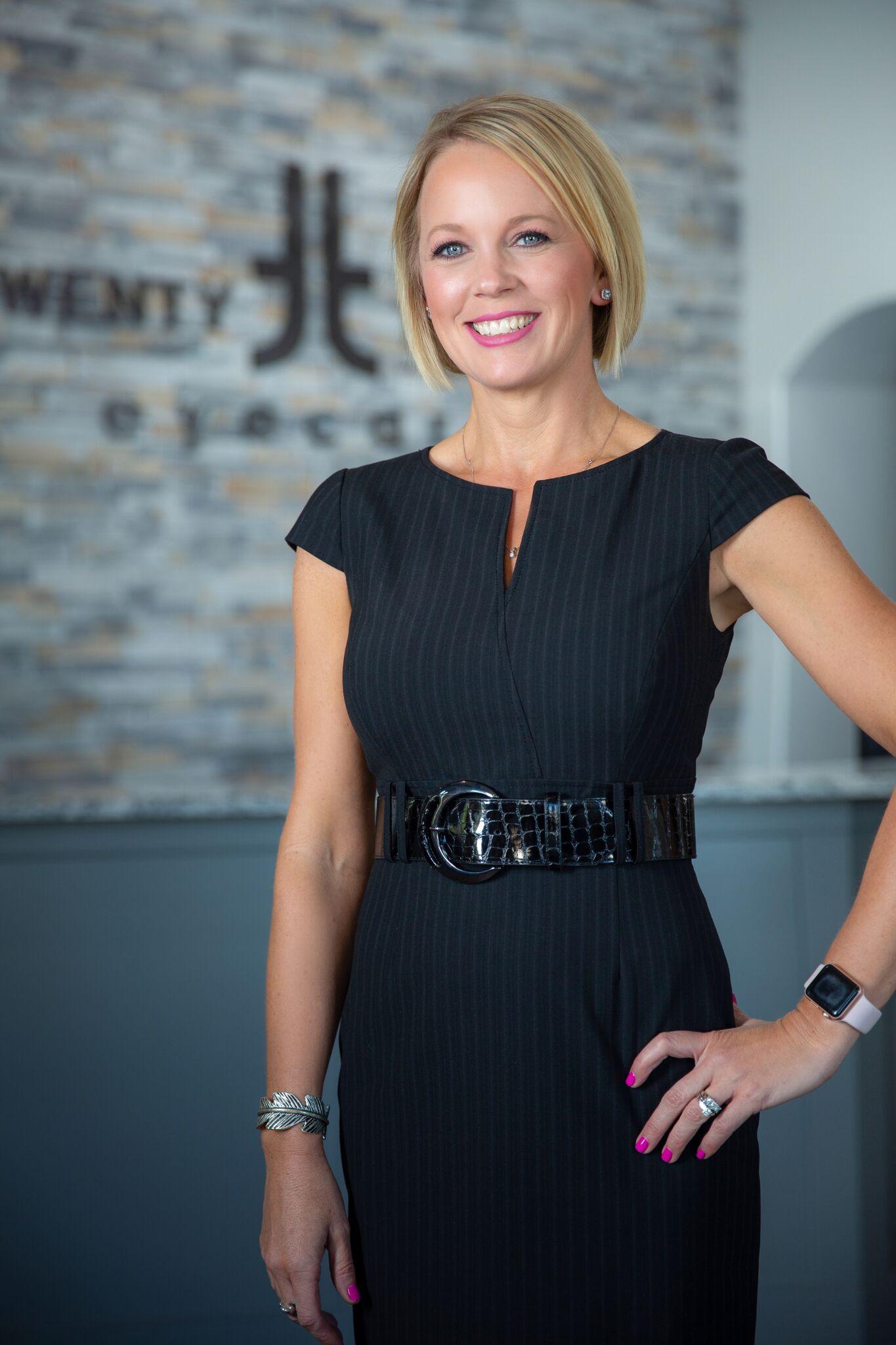 Dr Shannon Morgans Twenty Twenty Eye Care Optometrists in Tulsa